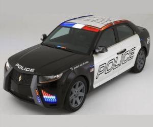 Polizeiwagen puzzle