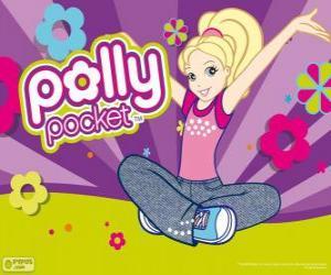 Polly auf dem Boden sitzen puzzle