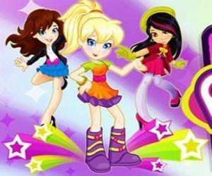 Polly mit ein paar Freunden tanzen puzzle