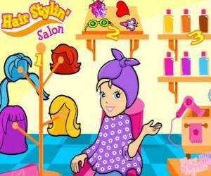 Polly Pocket im Schönheitssalon puzzle