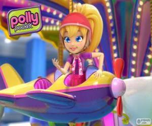Polly Pocket in einem seiner Abenteuer puzzle