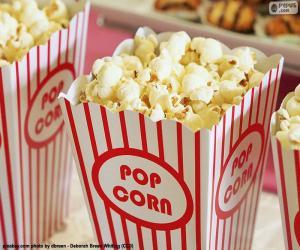 Popcorn-Kino puzzle
