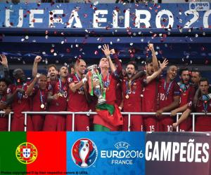 Portugal, Euro 2016 Meister puzzle