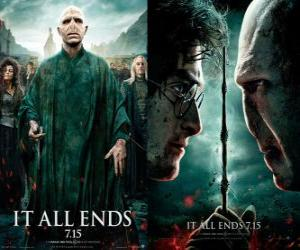 Poster Harry Potter und die Heiligtümer des Todes (6) puzzle