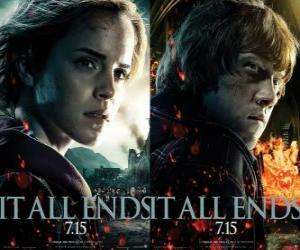 Poster Harry Potter und die Heiligtümer des Todes (4) puzzle