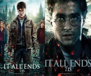 Poster Harry Potter und die Heiligtümer des Todes (3) puzzle