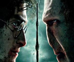 Poster Harry Potter und die Heiligtümer des Todes (2) puzzle
