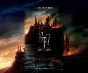 Poster Harry Potter und die Heiligtümer des Todes (1) puzzle