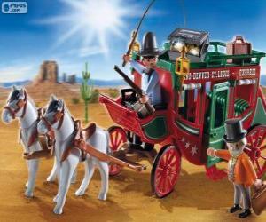 Postkutsche von Playmobil puzzle