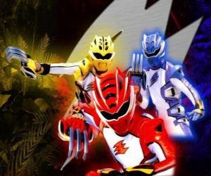 Power Ranger Elite-Kriegern puzzle