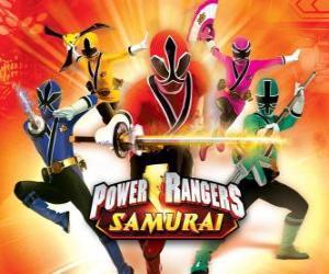 Power Rangers Samurai puzzle