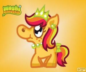 Priscilla. Moshi Monsters. Das Princess-Pony puzzle