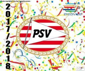 PSV Eindhoven, Eredivisie 2017-18 puzzle