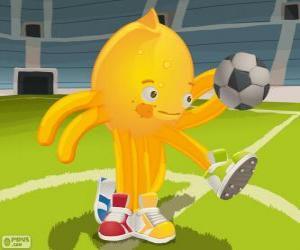 Pypus Fußball spielen puzzle