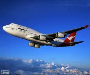 Qantas Airlines ist eine australische Fluggesellschaft puzzle