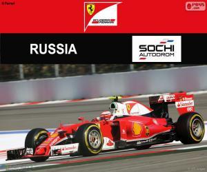 Räikkönen, Großer Preis von Russland 2016 puzzle