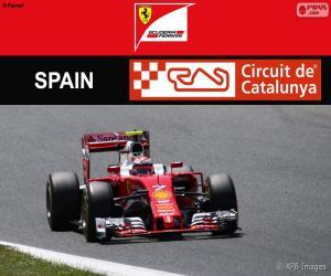 Räikkönen, Großer Preis von Spanien 2016 puzzle