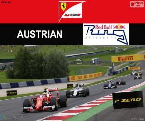 Räikkönen, Großer Preis von Österreich 2016 puzzle