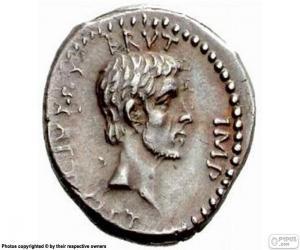 Römische Münze puzzle