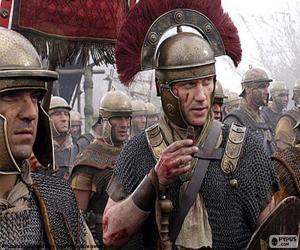 Römische Soldaten puzzle