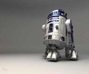 R2-D2 (sprich: er-zwo de-zwo) war ein Astromech-Droide puzzle