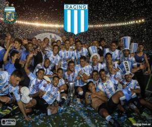Racing Club de Avellaneda, Meister der Torneo de Transición 2014 in Argentinien puzzle