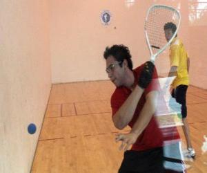 Racquetball gleiches puzzle