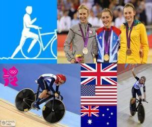 Radfahren Omnium damen London 2012 puzzle