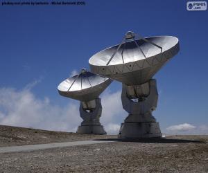 Radioteleskope puzzle