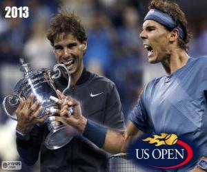 Rafael Nadal Meister US Open 2013 puzzle