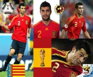 Raul Albiol (wird durch eine PIN) getötet spanische Team Verteidigung puzzle