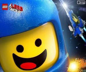 Raumfahrer Benny von den Lego-Film puzzle