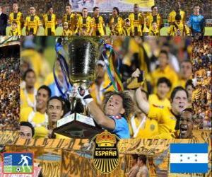 Real Club Deportivo España Apertura-Meister 2010 (Honduras) puzzle