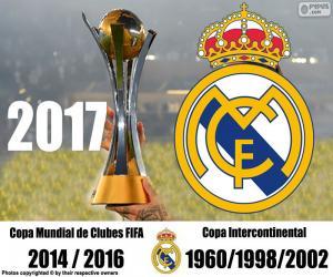 Real Madrid 2017 FIFA Klub-Weltmeisterschaft puzzle