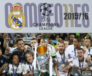 Real Madrid, Champions 2015-2016 puzzle