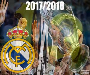 Real Madrid Champions 2017-2018 puzzle