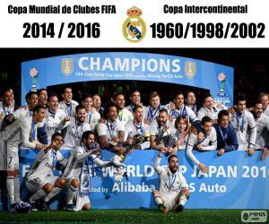 Real Madrid, FIFA-Klub-Weltmeisterschaft 16 puzzle
