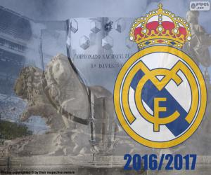 Real Madrid Meister 2016-2017 puzzle