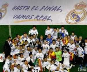 Real Madrid Meister Copa del Rey-2013-2014 puzzle