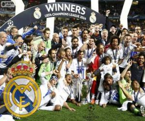 Real Madrid, Meister der UEFA Champions League 2013-2014 puzzle