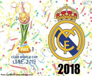 Real Madrid, Weltmeister 2018 puzzle