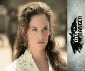 Rebecca Reid (Ruth Wilson) in dem Film Lone Ranger puzzle