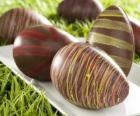 Schokoladen-Ostereier