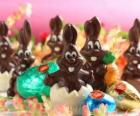 Schokoladen-Hasen