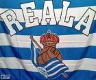 Flagge Real Sociedad