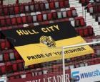 Flagge von Hull City A.F.C.