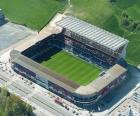 Stadion von C. A. Osasuna - Reyno de Navarra -
