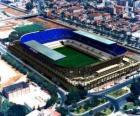 Stadion von Málaga C.F - La Rosaleda -
