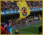 Flagge von Villarreal C.F.