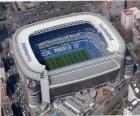 Stadion von Real Madrid - Santiago Bernabéu -